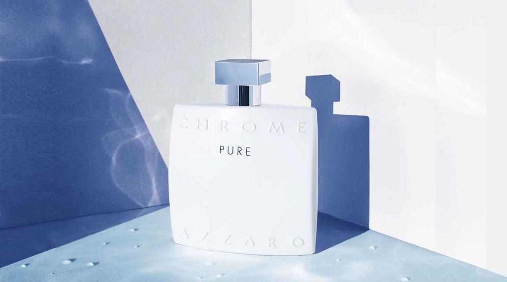 chrome pure nouveau parfum azzaro 2017 achat parfums. Black Bedroom Furniture Sets. Home Design Ideas