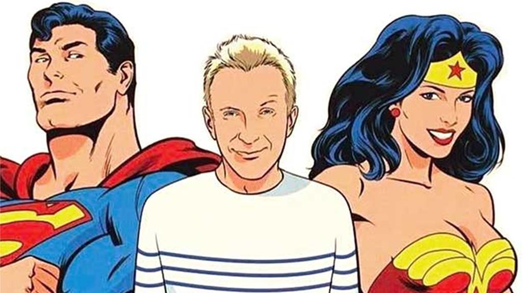 le male superman et classique wonderwoman