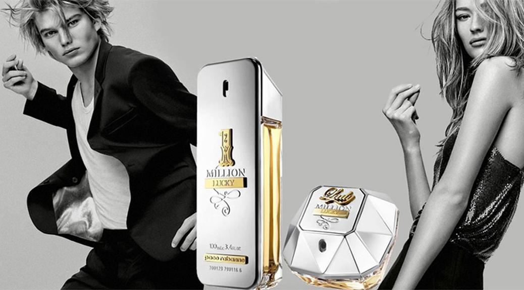 1 million lucky et lady million lucky paco rabanne achat parfums. Black Bedroom Furniture Sets. Home Design Ideas